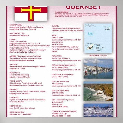 Guernsey Print