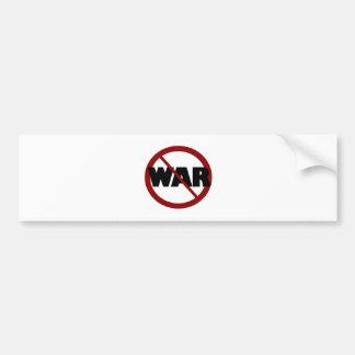 Guerra anti pegatina para auto