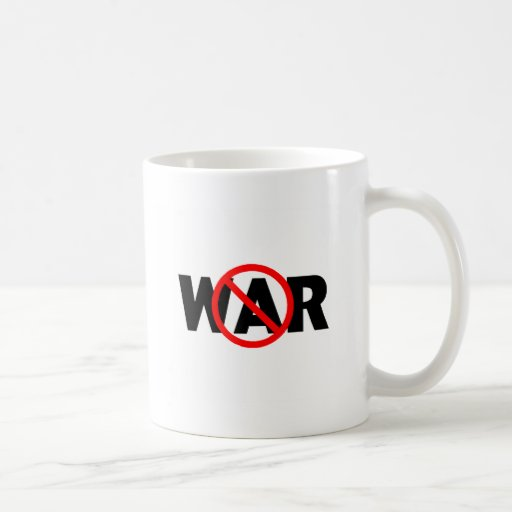 Guerra anti taza básica blanca