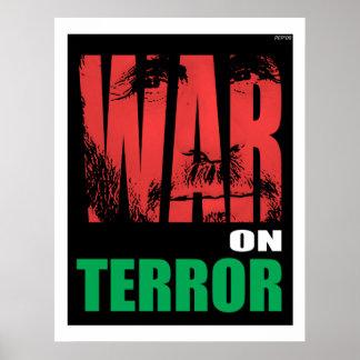 Guerra antiterrorista posters
