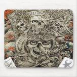 guerra azteca alfombrillas de raton
