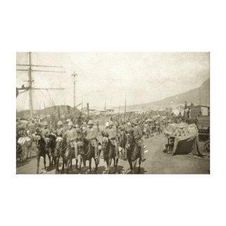 Guerra Boer del ejército británico Impresión En Tela