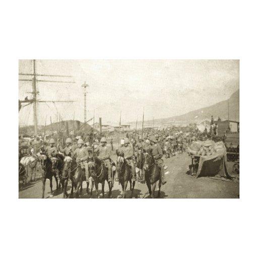 Guerra Boer del ejército británico Impresión De Lienzo