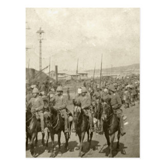Guerra Boer del ejército británico Postal