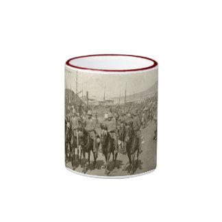 Guerra Boer del ejército británico Taza De Dos Colores