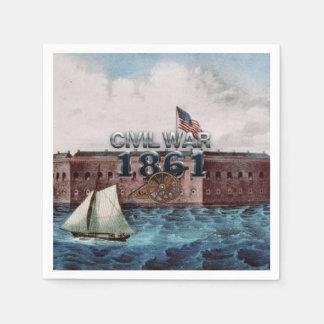 Guerra civil 1861 de ABH Servilleta De Papel