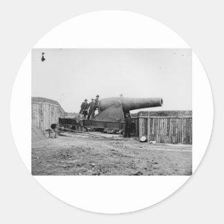 Guerra civil, Alexandría, Virginia, 1860-1865 Pegatina Redonda