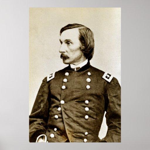 Guerra civil comandante G. general K. Warren Poster