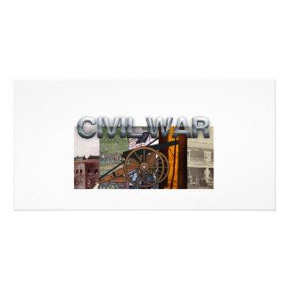 Guerra civil de ABH Tarjetas Fotográficas