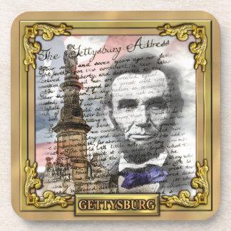 Guerra civil de Gettysburg Posavasos De Bebidas