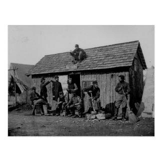 Guerra civil de la primera batalla del campo de ba tarjeta postal