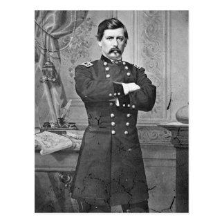 Guerra civil de los E.E.U.U.: General McClellan Tarjeta Postal