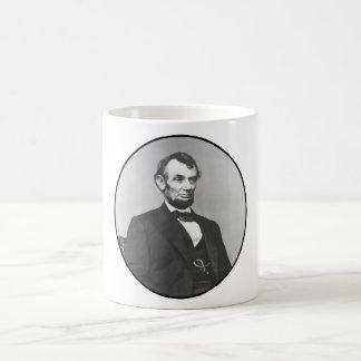Guerra civil de presidente Lincoln During The Tazas De Café