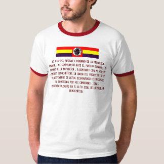 Guerra civil del EL Quinto Regimiento España Polera
