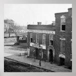 Guerra civil en Atlanta, 1864 Poster