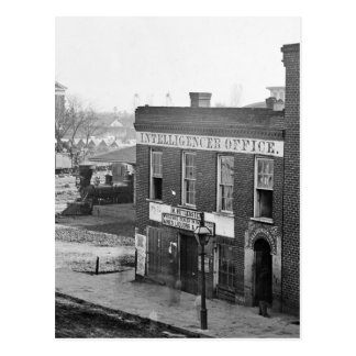 Guerra civil en Atlanta, 1864 Postal