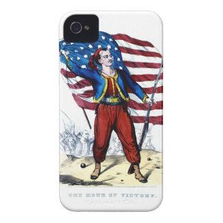 Guerra civil Nueva York Zouaves Case-Mate iPhone 4 Cobertura
