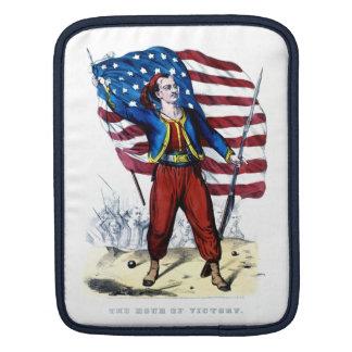 Guerra civil Nueva York Zouaves Funda Para iPads