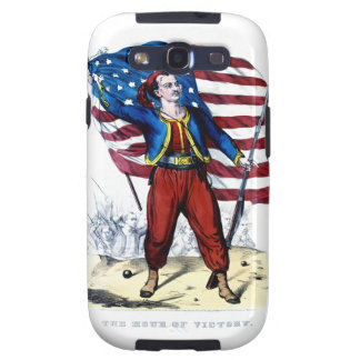 Guerra civil Nueva York Zouaves Galaxy S3 Funda