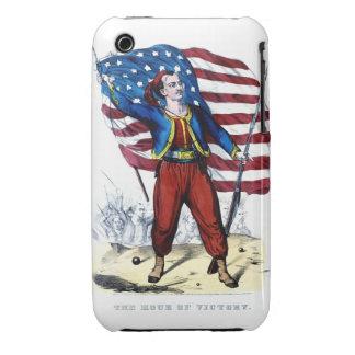 Guerra civil Nueva York Zouaves iPhone 3 Cárcasas