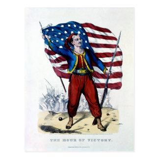 Guerra civil Nueva York Zouaves Postales