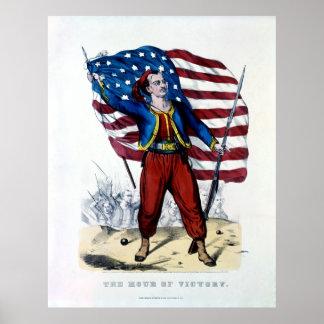 Guerra civil Nueva York Zouaves Poster