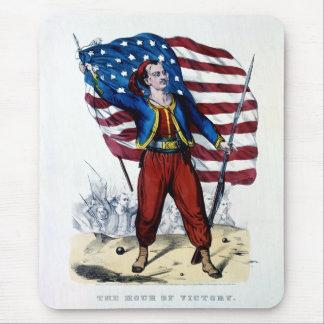 Guerra civil Nueva York Zouaves Tapetes De Ratones