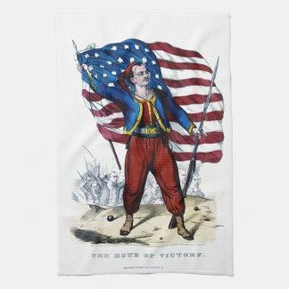 Guerra civil Nueva York Zouaves Toalla De Cocina