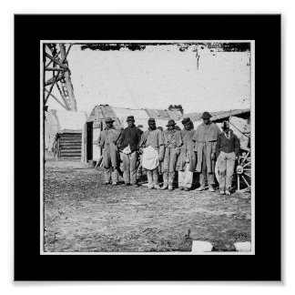 Guerra civil, Teamsters negros Poster