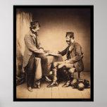Guerra crimea 1855 de la Comisión sanitaria Posters