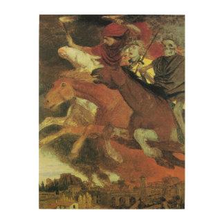 Guerra de Arnold Bocklin, bella arte del Cuadros De Madera