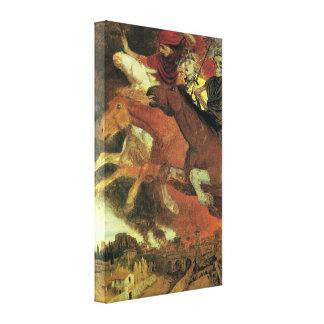 Guerra de Arnold Bocklin, bella arte del Lienzo Envuelto Para Galerias