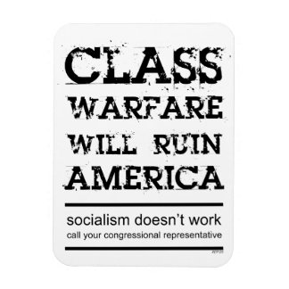 Guerra de clase imanes rectangulares