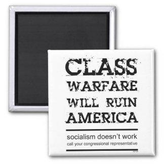 Guerra de clase imán cuadrado