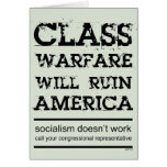 Guerra de clase tarjetas
