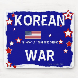 Guerra de Corea - en honor - Mousepad Alfombrillas De Ratón