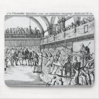 Guerra de declaración de Louis XVI el el 20 de abr Alfombrillas De Ratones