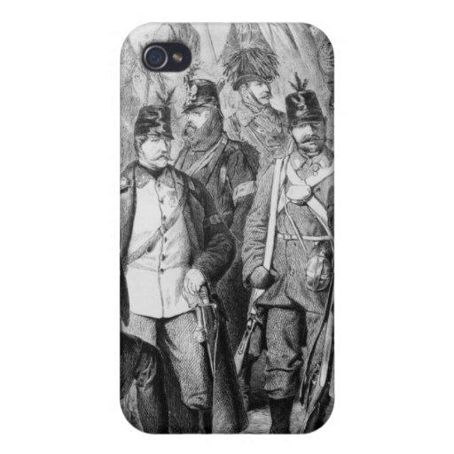 Guerra de ducados iPhone 4/4S carcasas