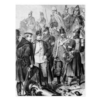 Guerra de ducados tarjeta postal