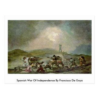 Guerra de Independencia española de Francisco De G Tarjeta Postal