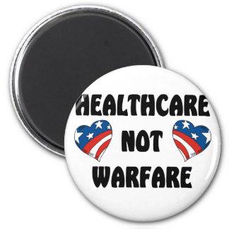 Guerra de la atención sanitaria no imán redondo 5 cm