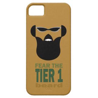 Guerra de la barba funda para iPhone 5 barely there