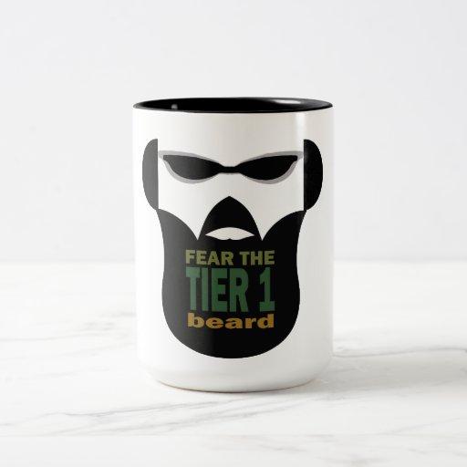 Guerra de la barba taza