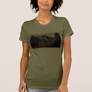 GUERRA de la camiseta marciana del cilindro de los