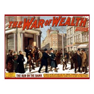 Guerra de la riqueza - postal
