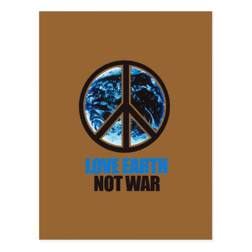 guerra de la tierra del amor no tarjetas postales