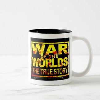 Guerra de los mundos las tazas verdaderas de la sa