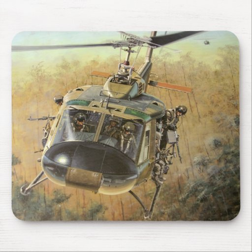 Guerra de Vietnam Alfombrillas De Ratón
