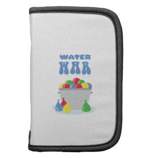 Guerra del agua planificador