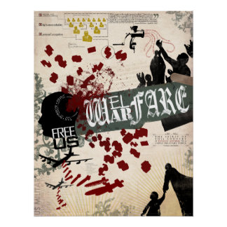 Guerra del bienestar póster